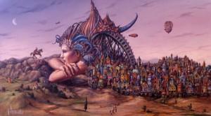 Magical Realism Art by Tomek Setowski