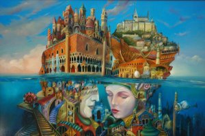 Magical Realism Art by Tomek Setowski
